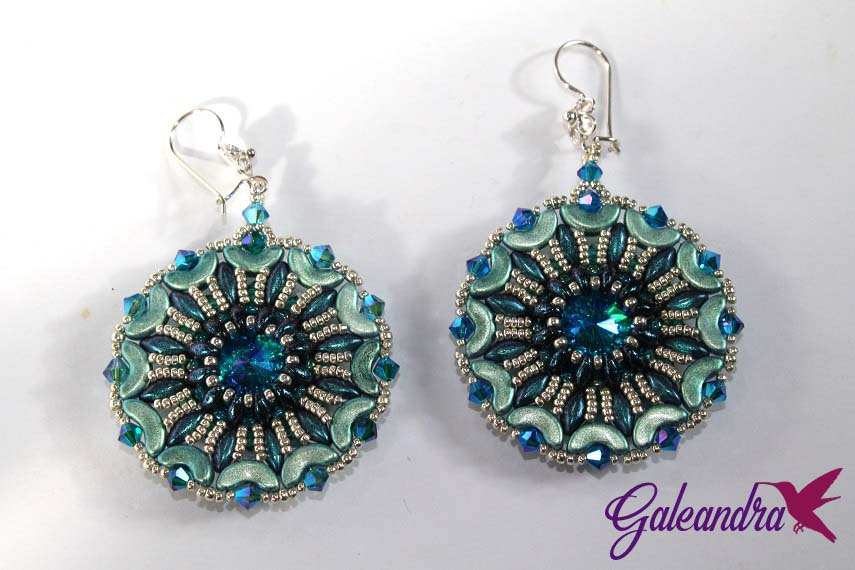 arcos, gemduos and superduos earrings
