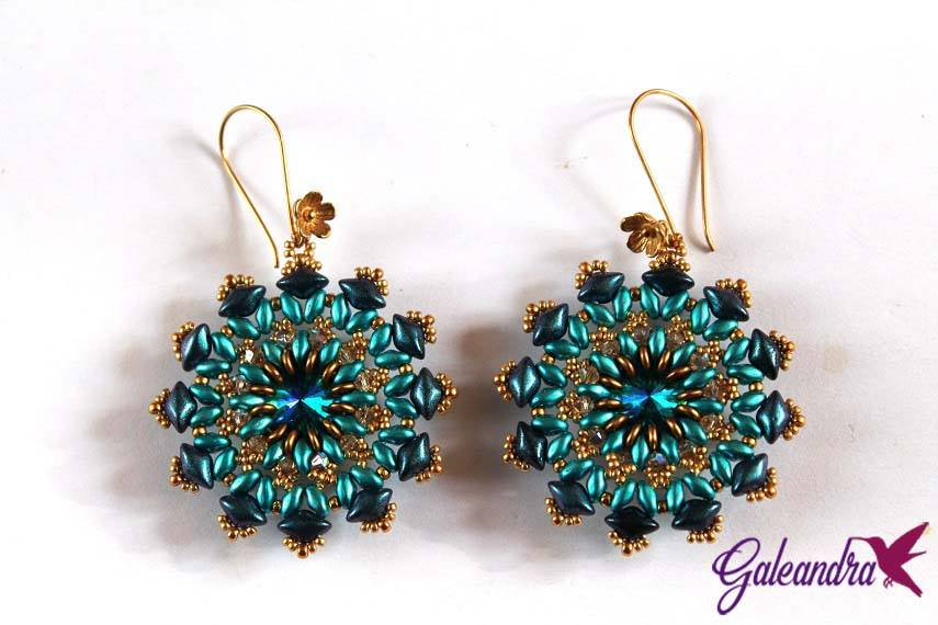 gemduos and superduos earrings